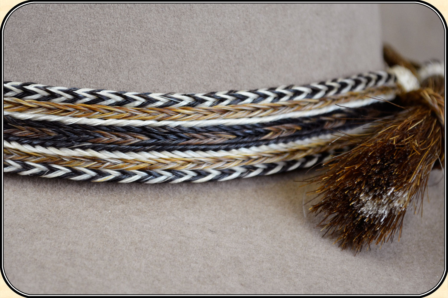 64fd36b1256 Horsehair hat band 1 inch wide - Click to Enlarge Image
