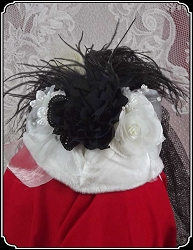 Ladies Hat - Small Fancy Tear Drop