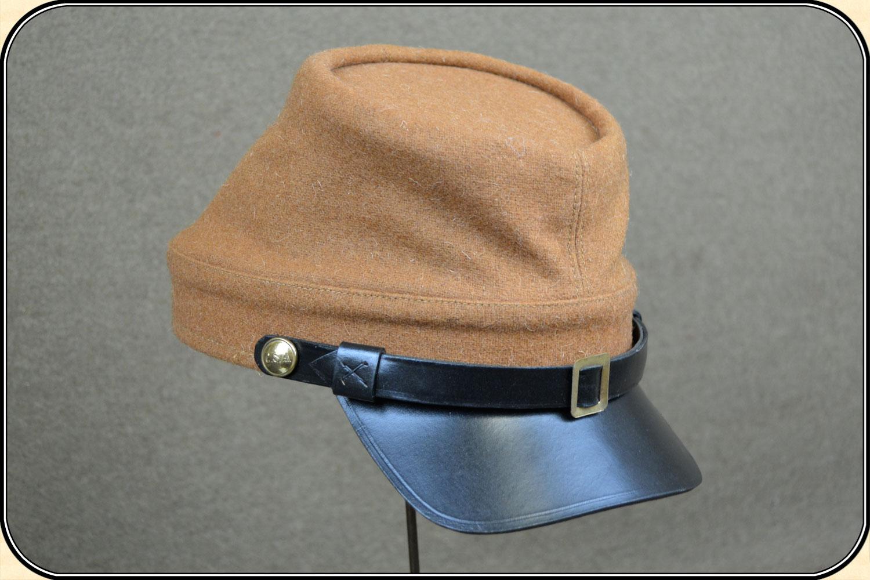 a38c1473f27 Z Sold US Civil War Reenactors - Confederate - butternut kepi Hat ...
