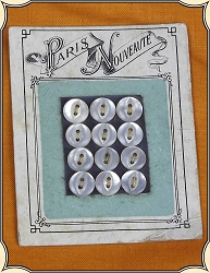 Paris Nouveaute Buttons For Doll or Baby