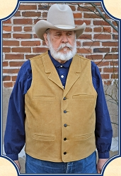 Buffalo Leather Vest