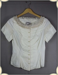 Ivory Recollection Blouse