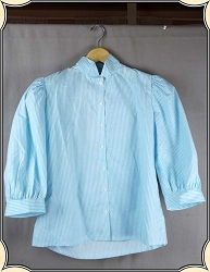Recollections Tuxedo Collar Blouse Size Small