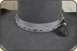 5 strand horse hair hat band