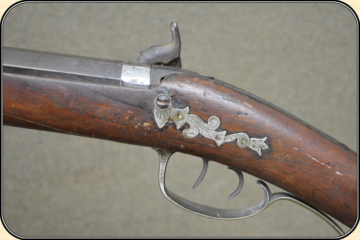 Z Sold Engraved Plains Rifle 40 Cal