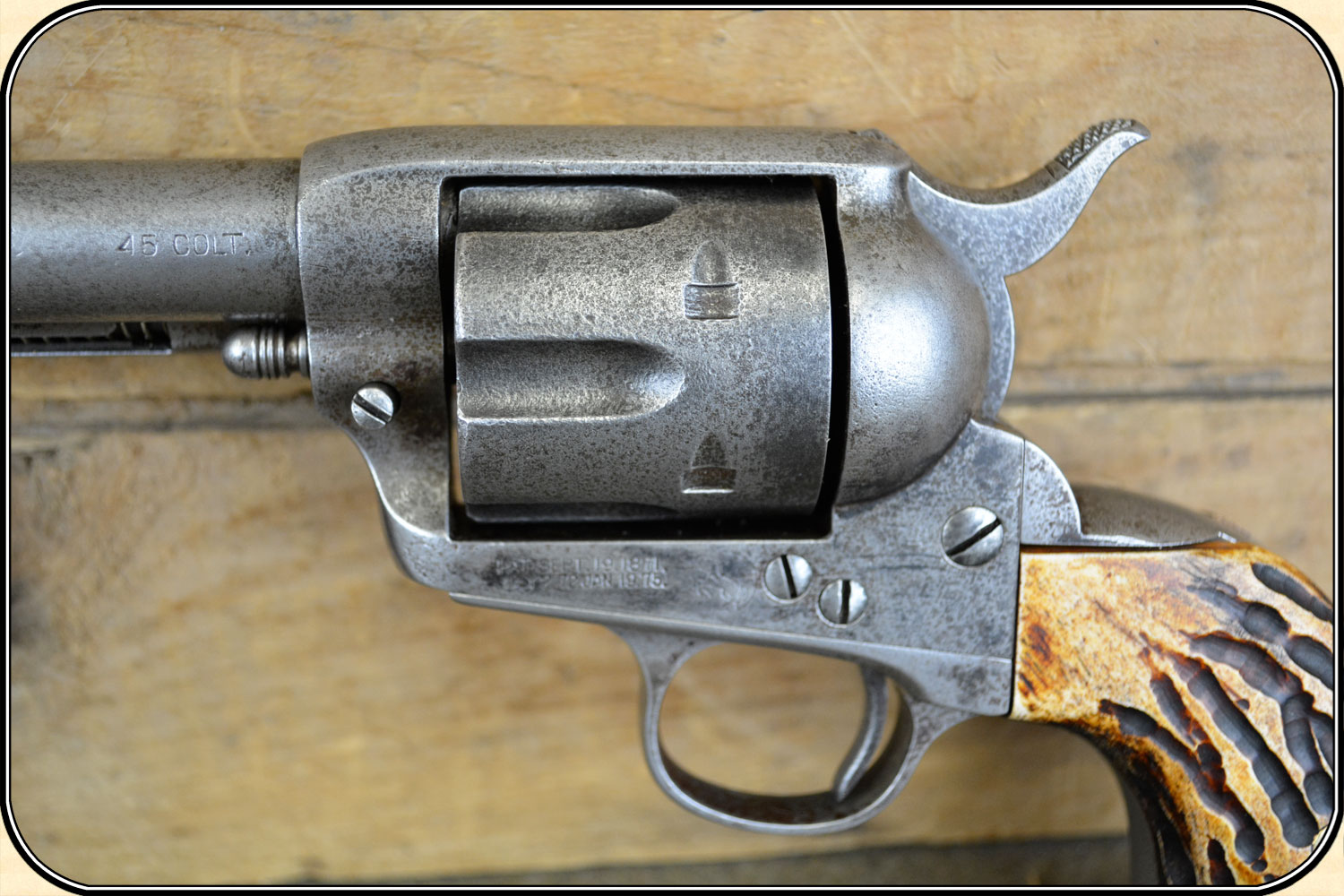 colt single action army 1st generation serial numbers