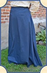 Skirt - Navy 1880s Victorian Walking Skirt Heirloom Brand