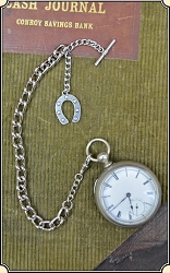 Heavy Silver watch chain