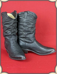 z - Sold Ladies Western Slouch Boots Special Offer