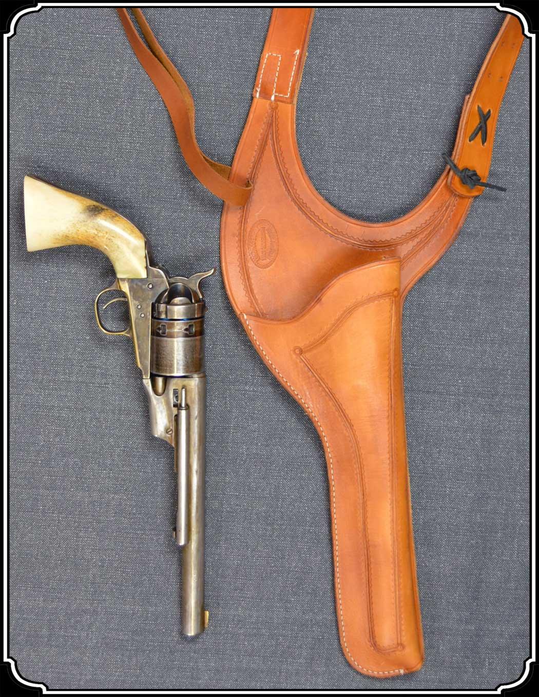 Holster - Texas Shoulder Holster for 7 1/2 and 8 inch Barrel guns