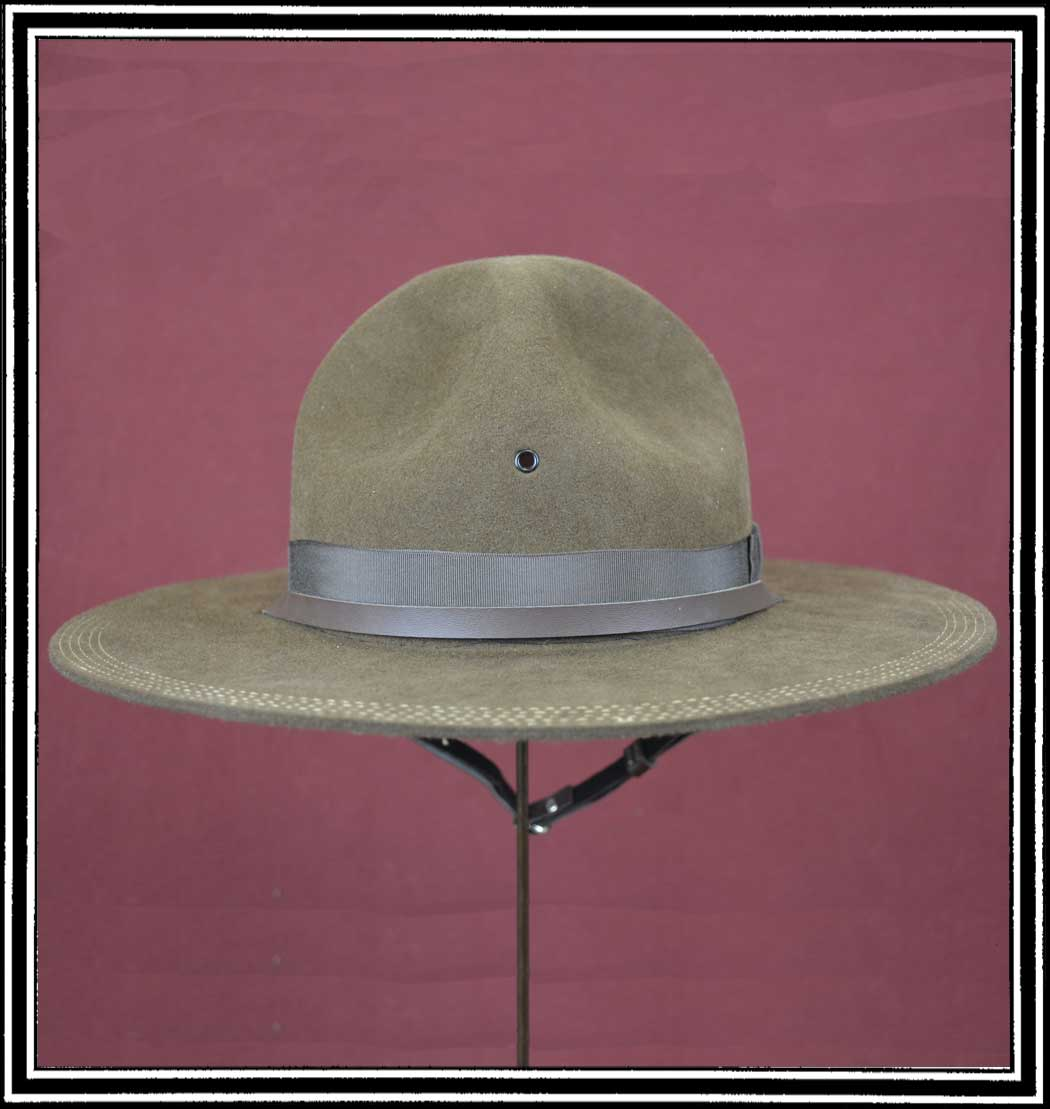 Men's Hat - 1911 CAMPAIGN HAT Hat Body Wool Felt