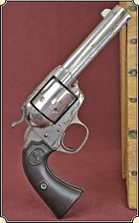 "Colt Bisley Frontier Six Shooter.44-40 cal., 4-3/4"" barrel"