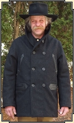 z-Sold Coat - Premium Mackinaw - Wool with Lining - Heirloom