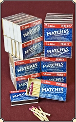 4 Packs of 10 boxes Wooden Vest Pocket STRIKE ANYWHERE Matches, Vesta Matchsafe