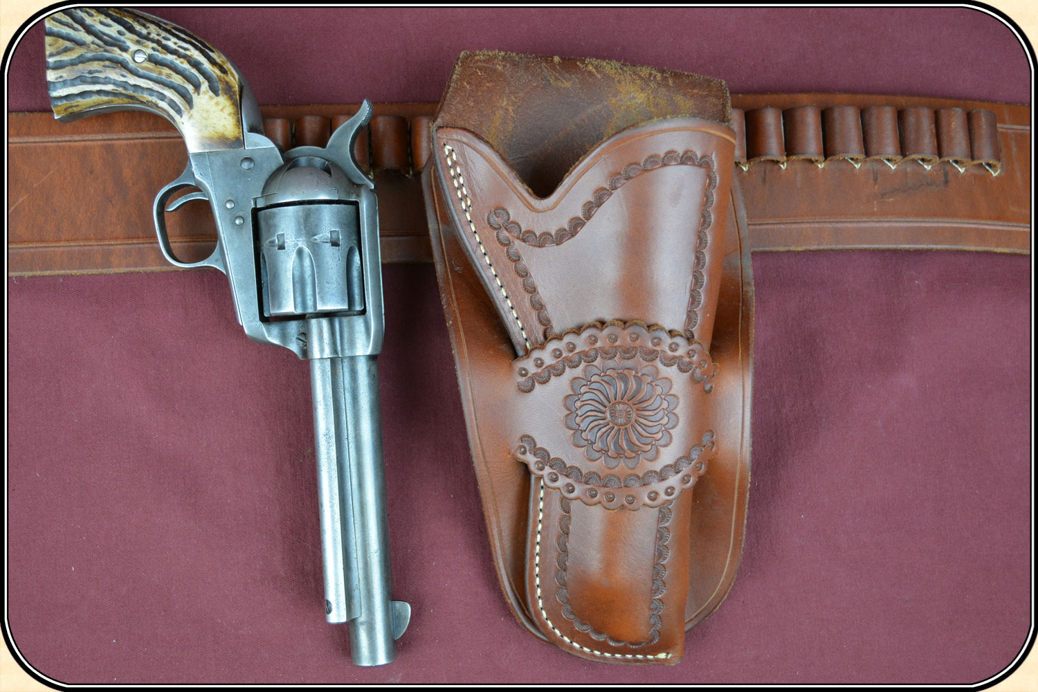 Classic Old West Styles Holster and Belt