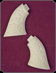 Ivory Color Grips Will fit Original Sharps .22  Derringer RJT#4582