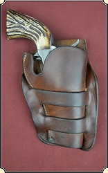 Rarest of the rare Herman H. Heiser holster for a 4 inch Colt SA Sheriffs Model
