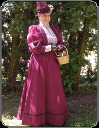 Late Victorian or Edwardian Ladies Outfit by Frontier Classics
