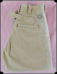 Size 28 Sun kissed Wah Maker Tan Trousers