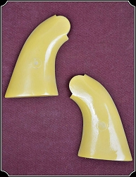 Grips ~ Plain John Wayne Yellow Grips for your 1858 Remington Pietta RJT#4761