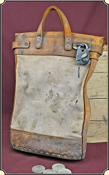 z Sold Antique Registered pouch.