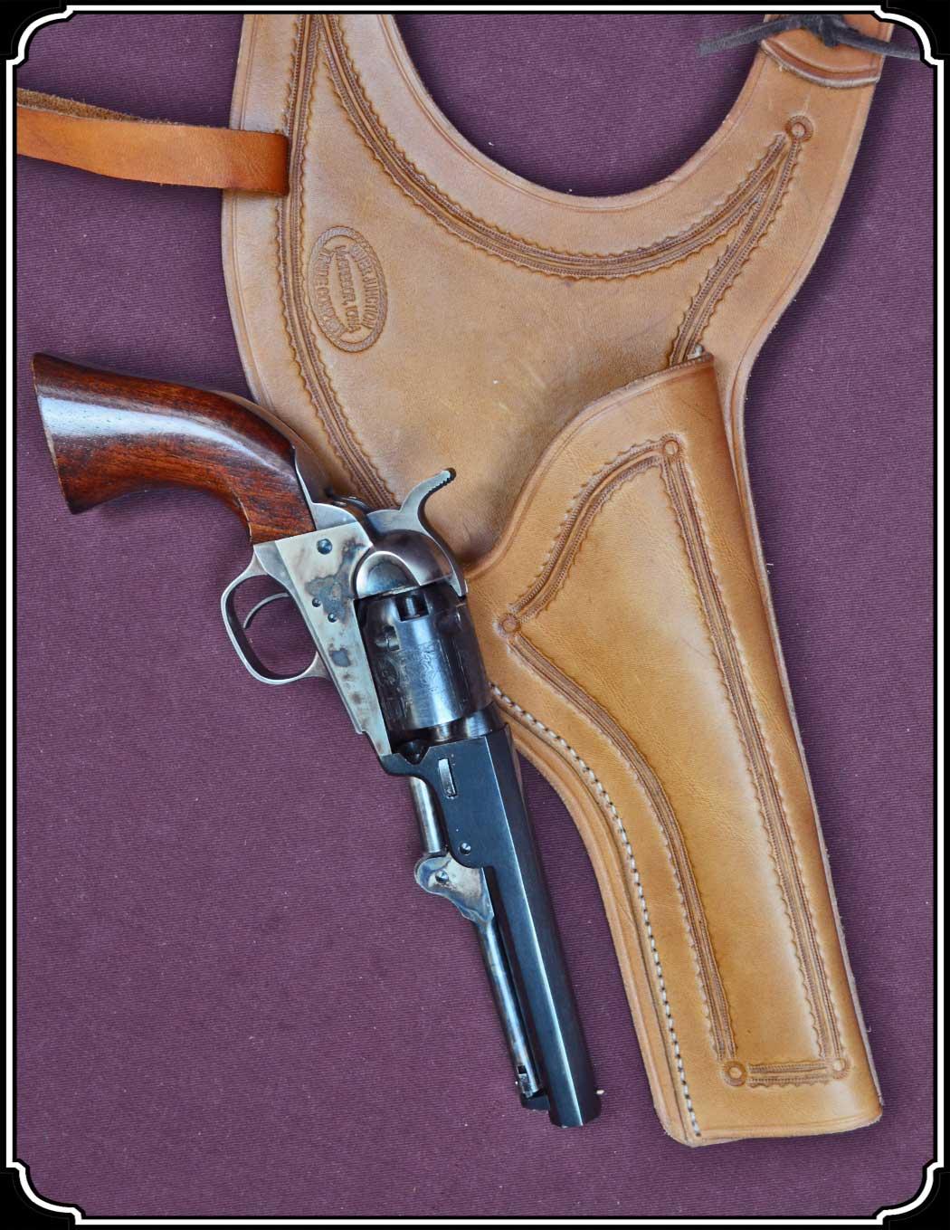 Small Frame Revolver Shoulder Holster