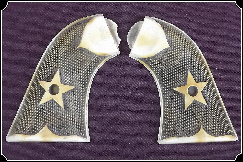 Grips ~ 1875 Remington - Checkered Star grip RJT#488