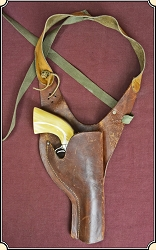z Sold Holster -Antique TX Shoulder Holster for your antique 1860 Army Conversion