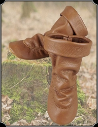 Teepee Boots for Ladies Saddle Plain Collar