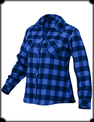 Shirt - Ladies Flannel Heavy Weight Shirt