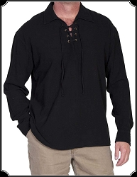 Shirt - Scully Plainsman style Pullover Light weight Cotton