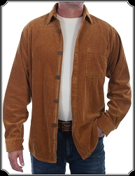 Men's Corduroy Western Shirt From Scully