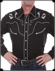 Shirt - Sharp Shooter Rodeo Shirt from Scully