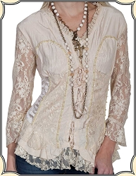 Scully's Honey Creek Lacy Blouse
