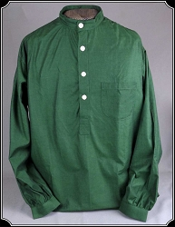 Shirt - Green/Black Homespun Festus