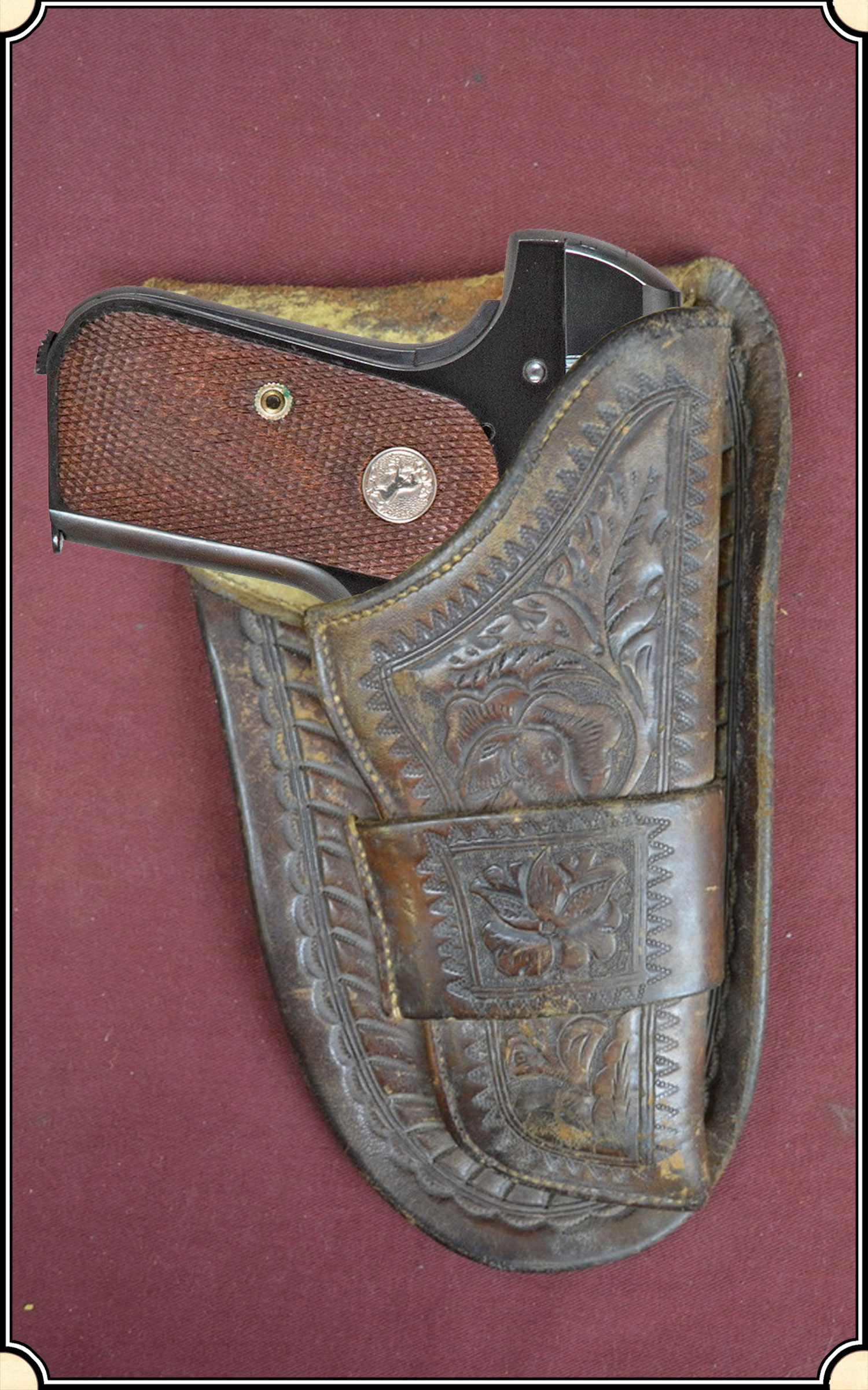 z Sold Holster - Mexican loop holster for a Colt 1903-8