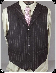 Cattle Baron Wool Blend Vest