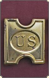 z-Sold Original Spanish American war Buckle - 3