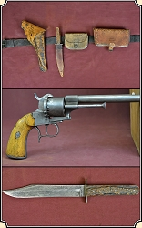 z Sold Confederate officers belt rig and weapons