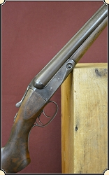 12 gauge Parker Bros. Double barrel shotgun