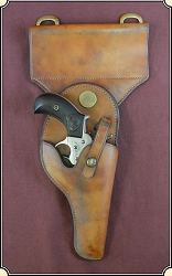 z Sold Northwest Mounted Police Holster For Sam Browne belt