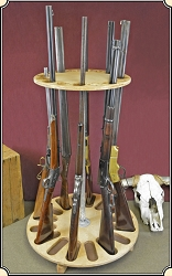 z Sold Rotating gun rack