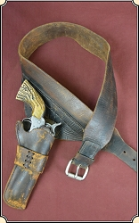 Z Sold A Fast draw Lawrence Holster and belt