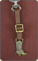 Kansas City Stockyards watch fob