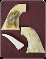 z-SOLD Grips ~ Colt SAA -  Hickock Eagle grip - right hand RJT#5256