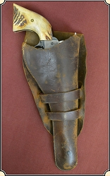 z Sold Antique Holster for 7 1/2 barrel.  Vintage 1870's