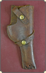 z Sold Vintage Brauer Bros Brown Leather Holster