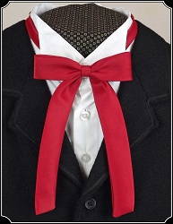 Tie - Red Satin Wyatt Earp