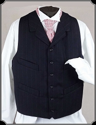 Vest - Midnight Navy Heirloom Brand Vest
