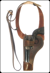 Z-Sold  Hey LEFTY Shoulder Holster Copied from Al Furstnow's Sheriff's Lightning rig 5